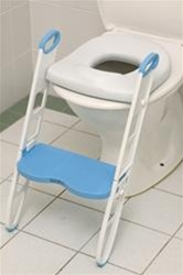 buy cushie step up padded toilet seat with step stool at