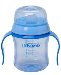 Dr Browns Sippy Amp Drinking Cup Soft Spout Blue At